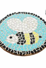 Mozaiekpakket Wandbord Bij