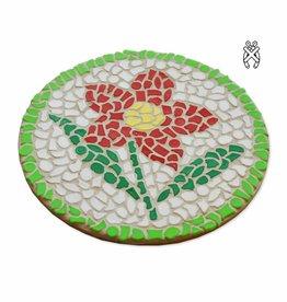 Cristallo Mozaiekpakket Wandbord Bloem