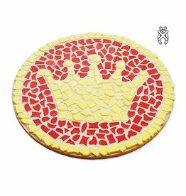 Cristallo Mozaiekpakket Wandbord Kroon