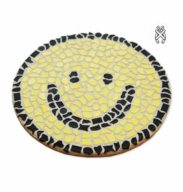 Cristallo Mozaiekpakket Wandbord Smiley
