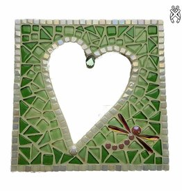 Cristallo Mozaiek pakket Spiegel Glorio Hart Groen