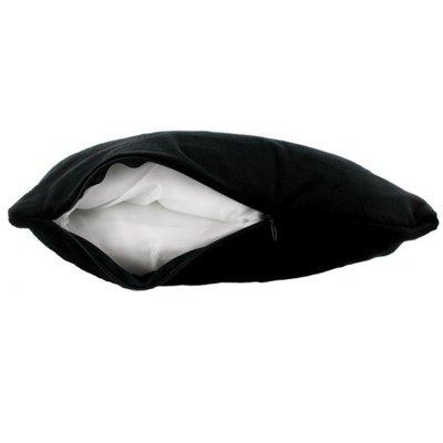 Petite Plushie Vibrator verstopplek (zwart)