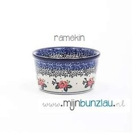 Ramekin schaaltje decor: Tearose