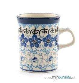 Mok recht decor: Blue Violets