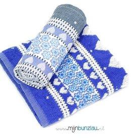 Hand&Theedoek Blue Valentine Royal Blue