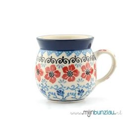 Farmer Mug : Red Violets
