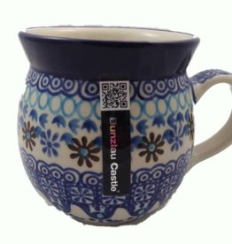 Farmer mug decor : Blue Coral