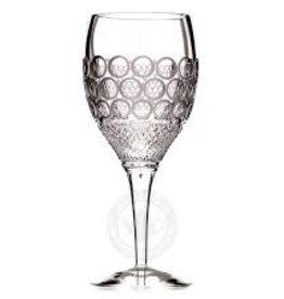 Witte wijnglas decor: Precious Pearls