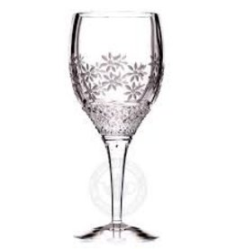 Witte wijnglas decor: Double Delight