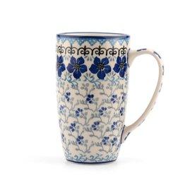 Coffee-to-go mok decor Blue Violets