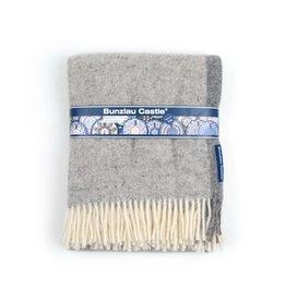 Plaid decor: Solid Grey Lamswol plaid
