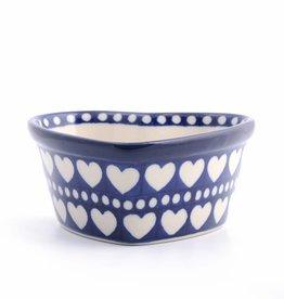 Hartvormige schaal decor: Blue Valentine