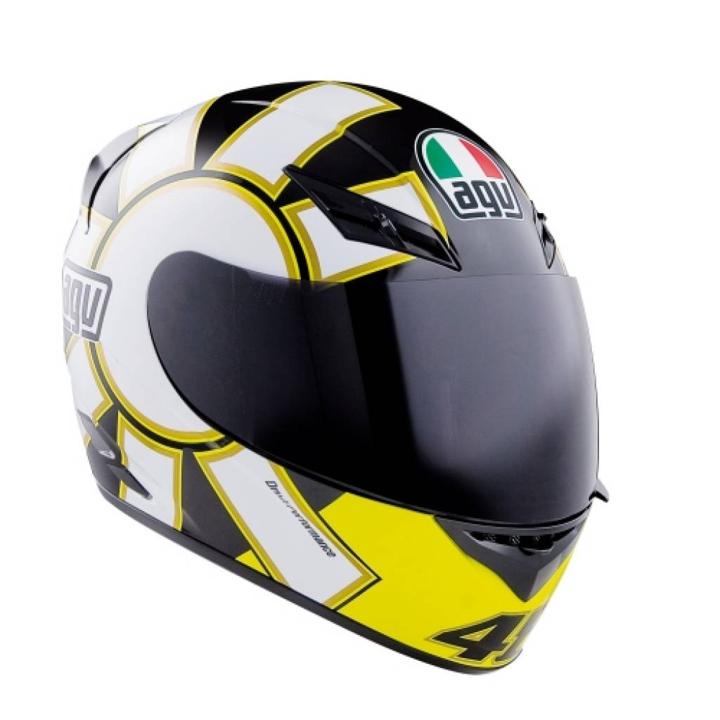 casque agv k3 rossi gothic black champion helmets. Black Bedroom Furniture Sets. Home Design Ideas