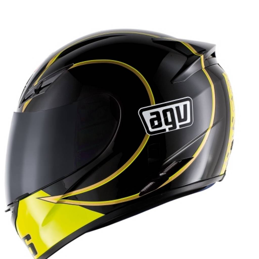 casque agv k3 rossi gothic black champion helmets l 39 equipment moto. Black Bedroom Furniture Sets. Home Design Ideas