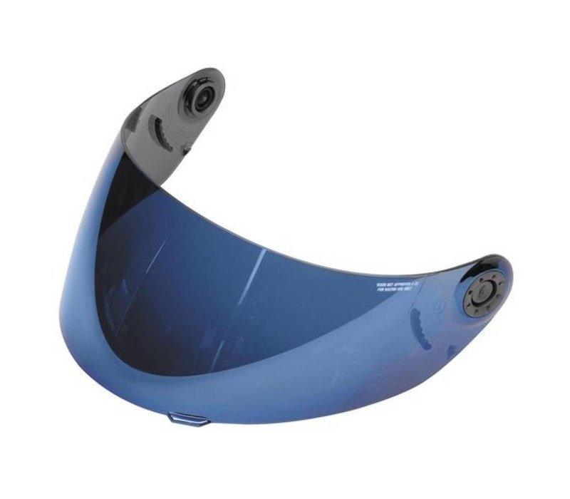 SHARK RACE-R PRO IRIDIUM VISERA AZUL