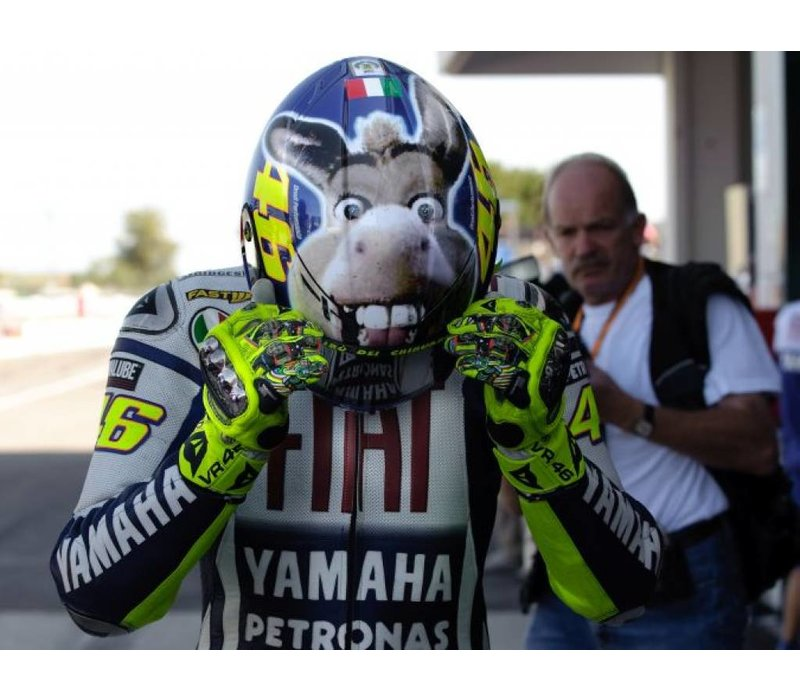 K-3 SV The Donkey Capacete VR46 Limited Edition