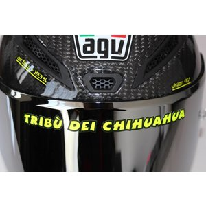 "AGV Casque autocollant ""Tribu dei Chihuaha"""
