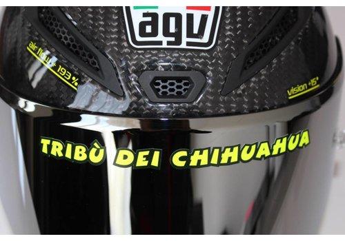 "AGV Online Shop Casque autocollant ""Tribu dei Chihuaha"""