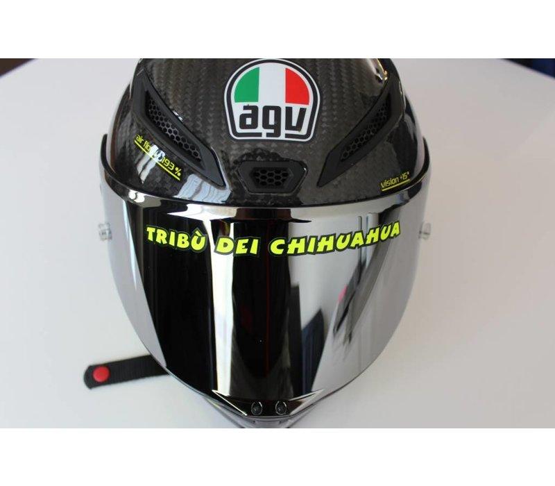"""Helmet """"Tribu dei Chihuaha"""" sticker"""