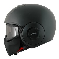 Raw Черная матовая шлем
