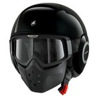 SHARK Raw Blank Black helmet