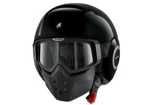 Shark Raw Blank Black helmet