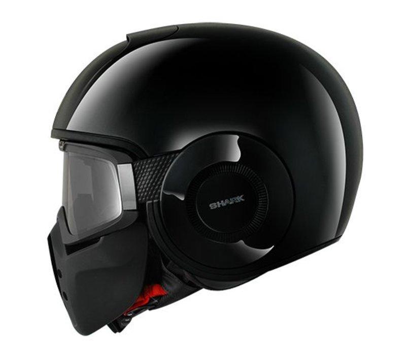 Raw Blank Schwarz Helm
