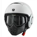 SHARK Raw Blank белый шлем