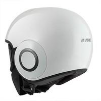Raw Blank White helmet