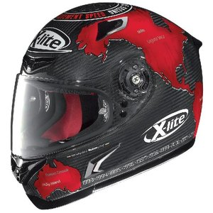 X-LITE X-lite X-802R ULTRA REPLICA Carlos Checa шлем