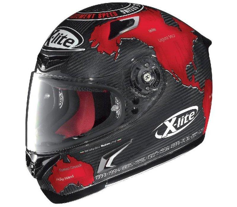 X-802R ULTRA REPLICA Carlos Checa helmet
