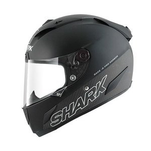 SHARK Race-r Pro Carbon Black matt casco
