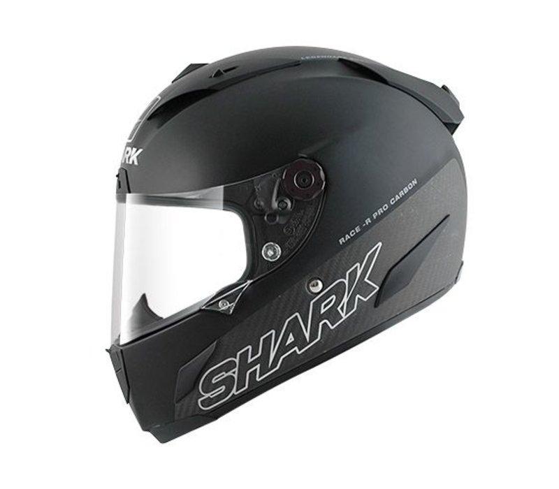 Race-r Pro Carbon Black matt capacete