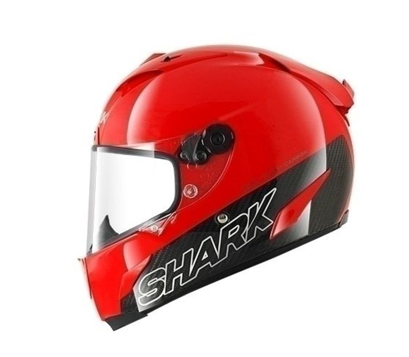 Race-r Pro Carbon Red Helm