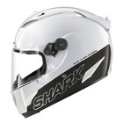 SHARK Race-R Pro Carbon White casque