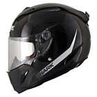 SHARK Race-r Pro Carbon SKIN White Black casque