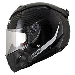 SHARK Race-r Pro Carbon SKIN White Black capacete