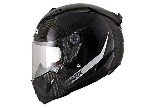 Shark Race-r Pro Carbon SKIN White Black Helm