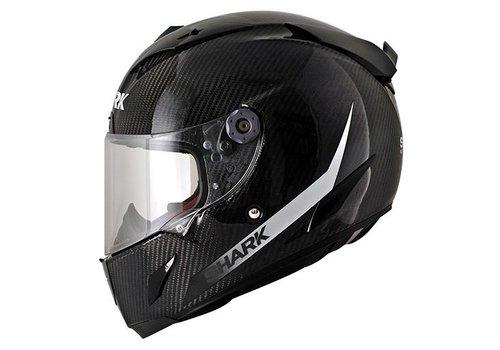 SHARK Race-r Pro Carbon SKIN White Black helmet