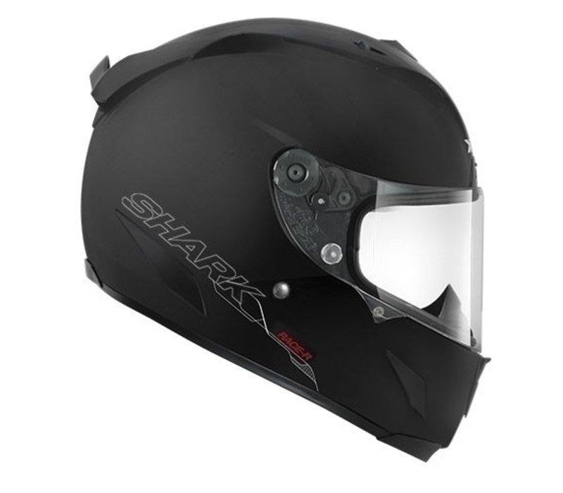 Race-R Pro black matt helmet