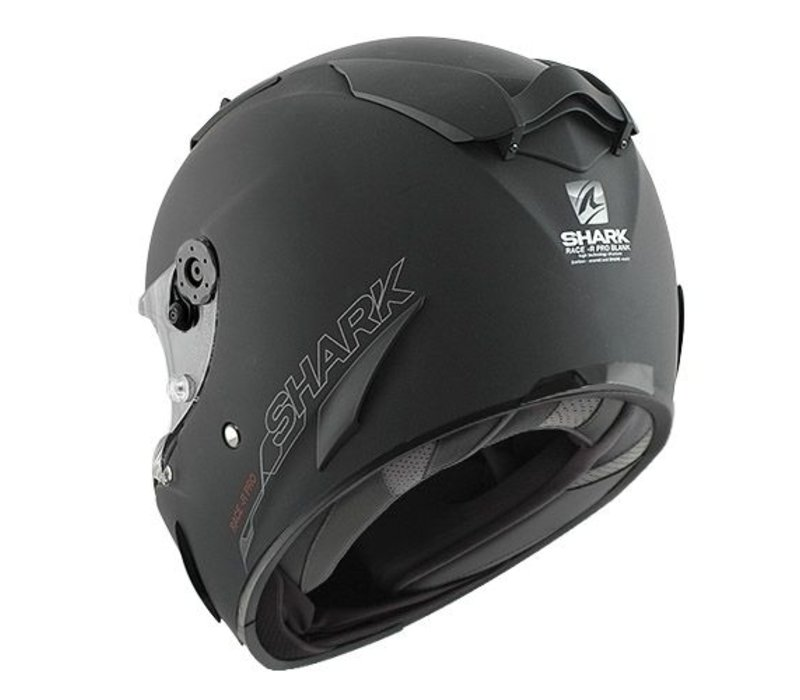 Race-R Pro. casco negro mate