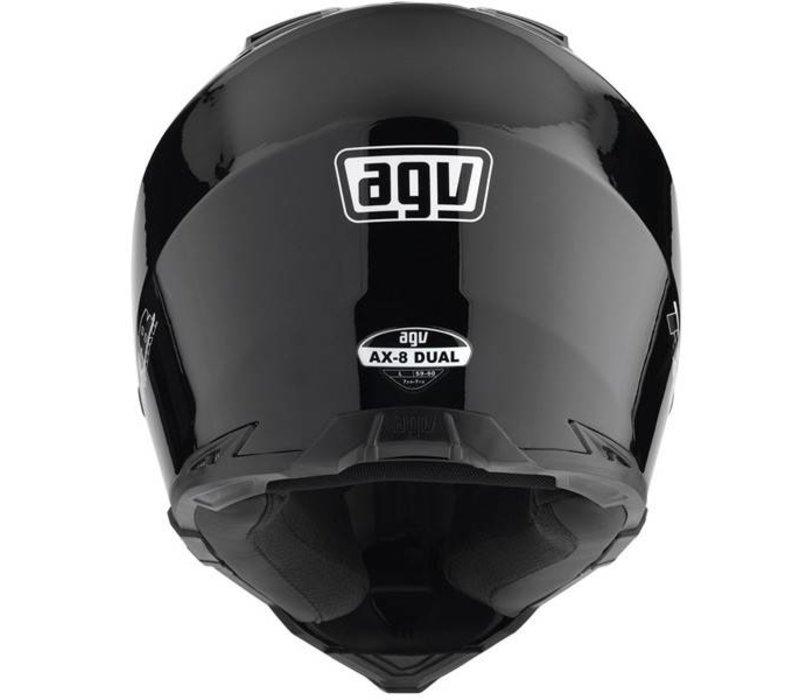 AX-8 Dual Evo capacete preto