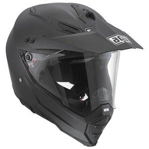AGV AX-8 Dual Evo capacete preto fosco