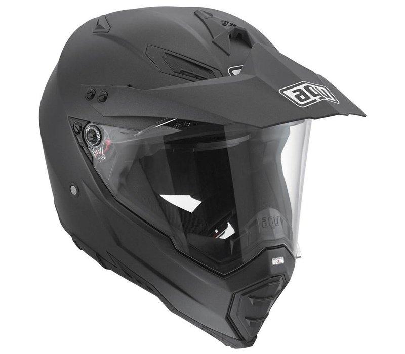 AX-8 Dual Evo capacete preto fosco