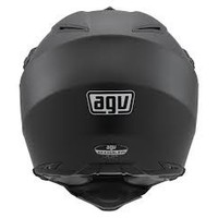 AX-8 Dual Evo casco nero opaco