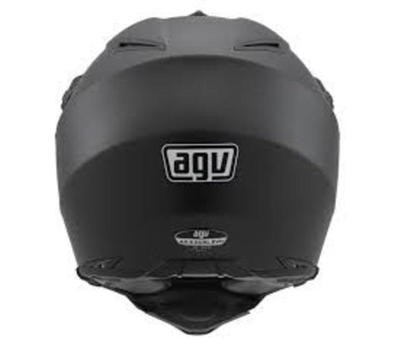 AX-8 Dual Evo casco negro mate