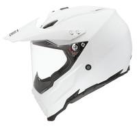 AX-8 Dual Evo capacete branco