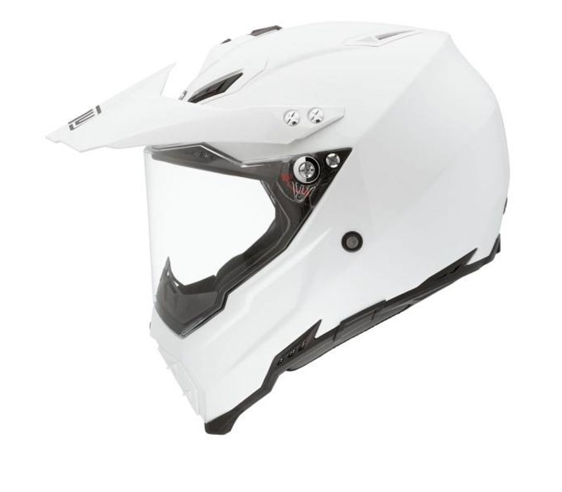 AX-8 Dual Evo casco bianco
