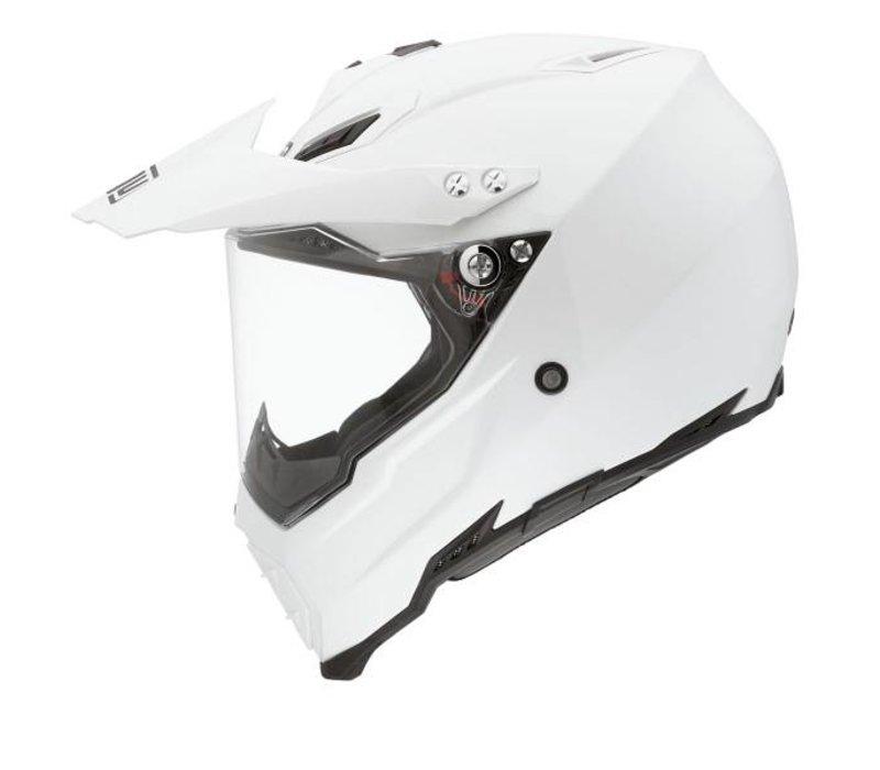 AX-8 Dual Evo Helm weiss