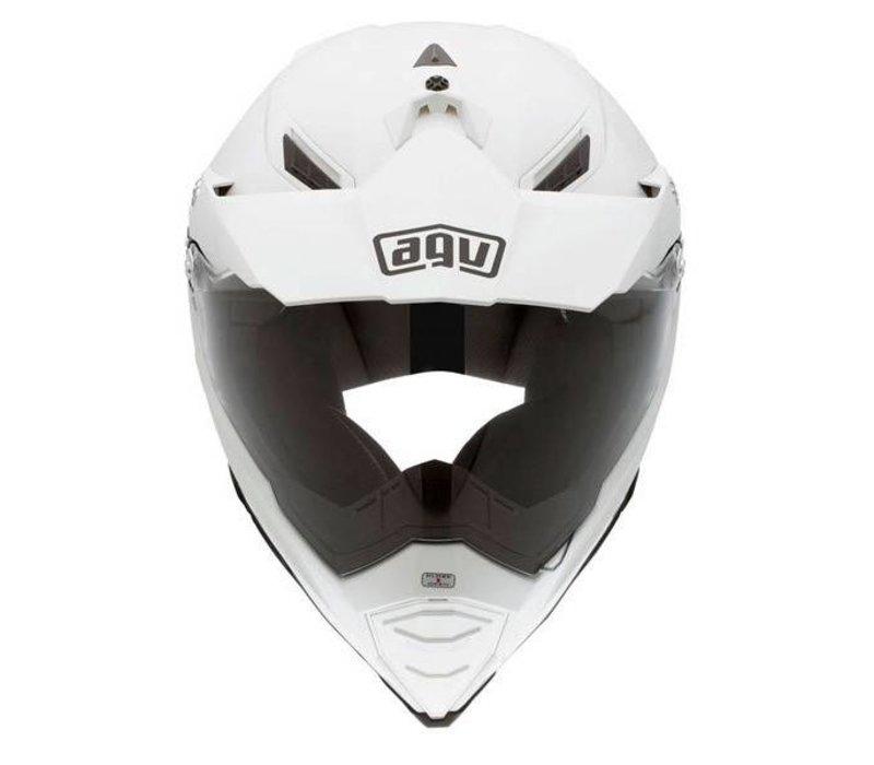 AX-8 Evo Naked white helmet